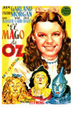 The Wizard of Oz, Spanish Movie Poster, 1939 Photo