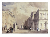 A View Down Pall Mall Looking Towards Trafalgar Square Giclee Print by Thomas Shotter Boys