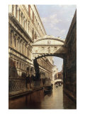 The Bridge of Sighs Art by Antonietta Brandeis
