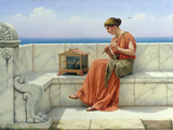 Song without Words, 1918 Giclee Print by John William Godward