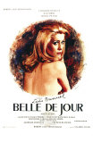 Belle de Jour, French Movie Poster, 1968 Print