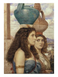 Water Carriers of the Nile, 1862 Prints by Edward John Poynter
