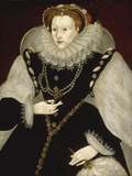 Portrait of Elizabeth I Giclee Print by Georg Gower