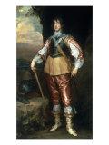 Prince Charles Louis, Elector Palatine (1617-1680) Poster von Anthony Van Dyck