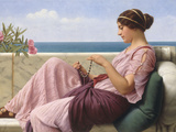 A Souvenir, 1920 Giclee Print by John William Godward