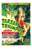 Tarzan Triumphs, 1943 Poster