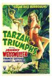 Tarzan Triumphs, 1943 Poster