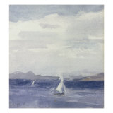Yachts at Sea Prints by Francis Campbell Boileau Cadell
