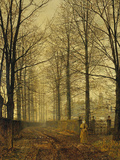 Three hundred years ago, 1892 Giclee Print by John Atkinson Grimshaw