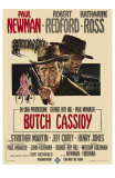 Butch Cassidy and the Sundance Kid, Italian Movie Poster, 1969 Photo