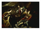 The Entombment Poster von Simon Vouet