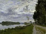 La Promenade d'Argenteuil Poster by Claude Monet