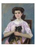 Portrait de Marie-Louise Durand-Ruel, 1911 Posters by Mary Cassatt
