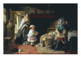 Charity, 1860 Giclee Print by Thomas Brooks
