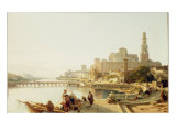 A View of Cordoba, 1863 Print by Francois Bossuet