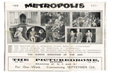 Metropolis, UK Movie Poster, 1926 Photo