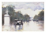 The Champs Elysees, 1928 Giclee Print by Lesser Ury