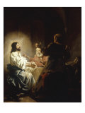 The Supper at Emmaus Giclee Print by Salomon de Bray