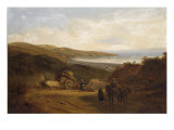 View of Valparaiso, Chile Giclee Print by Johann Moritz Rugendas