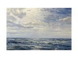 Off the Coast of Cornwall Gicleetryck av Henry Moore