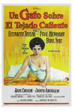 Cat On a Hot Tin Roof, Argentine Movie Poster, 1958 Poster