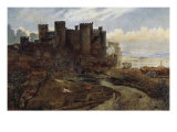 Conway Castle Giclee Print by William Davis