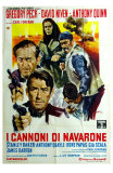 The Guns of Navarone, Italian Movie Poster, 1961 Posters
