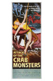 Attack of the Crab Monsters, 1957 Print