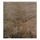 The Rhinebeck Panorama of London (The Tower of London) Giclee Print