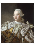 Portrait of King George III Prints by Allan Ramsay