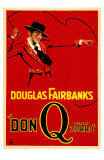 Don Q- Son of Zorro Print