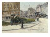 La Place Pigalle Prints by Louis Abel Truchet
