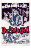 Buffalo Bill, 1944 Posters