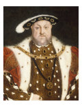 Portrait of Henry VIII Prints by Hans Holbein