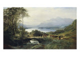 At the Head of the Loch, 1863 Giclee Print by Samuel Bough