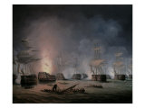 The Battle of the Nile, August 1st 1798 Giclee Print by Thomas Buttersworth
