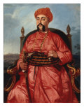 Portrait of the Nawab Asuf-ud-Daula Giclee Print by Johann Zoffany