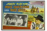 The Searchers, Mexican Movie Poster, 1956 Poster