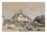 A View of Bury Hill, near Dorking, Surrey, 1837 Giclee Print by James Duffield Harding
