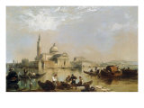 Distant View of San Giorgio Maggiore Prints by Edward Pritchett