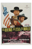 The Good, The Bad and The Ugly, Spanish Movie Poster, 1966 Prints