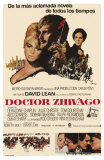 Doctor Zhivago, Argentine Movie Poster, 1965 Print