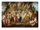 Feast of the Gods Prints by Hendrick de Clerck