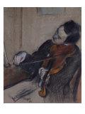 L'Altiste, 1880 Giclée-Druck von Edgar Degas