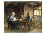 The Simple Meal Impression giclée par Bernardus Johannes Blommers