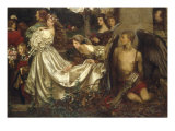The Uninvited Guest Giclee Print by Eleanor Fortescue Brickdale