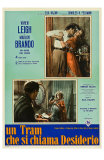 A Streetcar Named Desire, Italian Movie Poster, 1951 Affiches