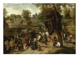 The Return from the Kermesse Giclee Print by Pieter Breugel the Elder
