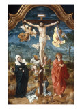 The Crucifixion Giclee Print by Jan De Beer