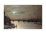 London Bridge, 1883 Posters by John Atkinson Grimshaw